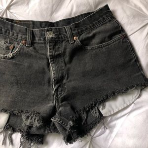 Levi's 550 Relaxed Fit Cutoffs